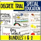 Discrete Trial Training Bundle Special Education