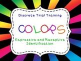 Discrete Trial Training Color Flashcards Freebie