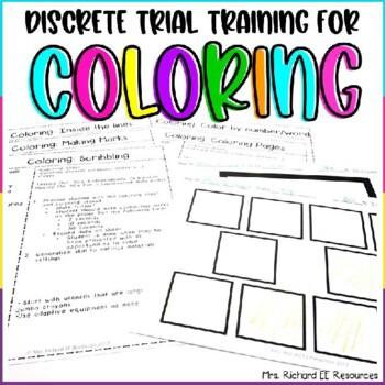 Discrete Trial Training Coloring