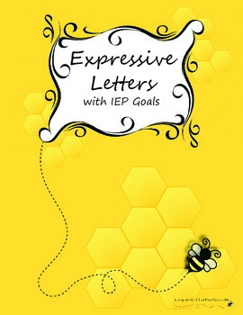 Discrete Trial/ABA Expressive Letters with IEP Goal.