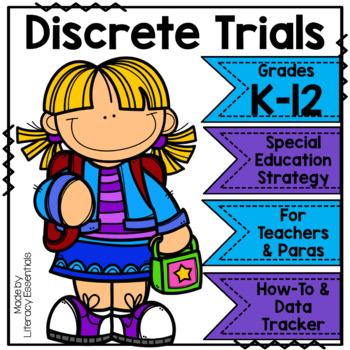 Discrete Trials Training Response Key and Data Sheet