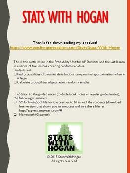 AP Statistics - Discrete and Continuous Random Variables:Part 5