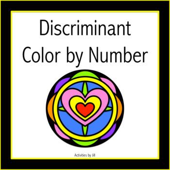 Discriminant Color by Number