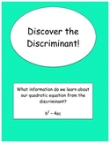 Discriminant Discovery Activity