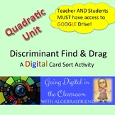 Discriminant: Find and Drag - A Digital Activity