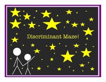 Discriminant Maze