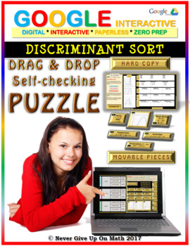 Discriminant Sort (Google Interactive & Hard Copy)