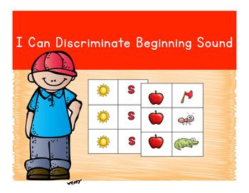 Discriminate Letter Sounds
