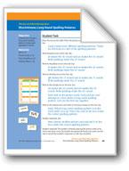 Discriminates Long Vowel Spelling Patterns (assessment)