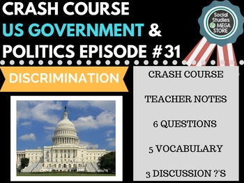 Discrimination: Crash Course Government and Politics #31