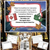 Discrimination in Canada: A Canadian Social Studies Unit