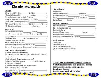 Discusion Responsable ~ Accountable Talk