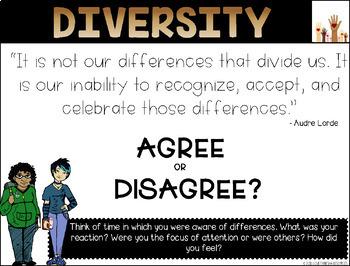 Discussing Diversity