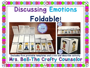 Discussing Emotions, the Foldable!