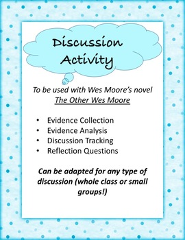 Discussion Activity for The Other Wes Moore