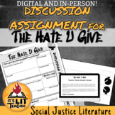 The Hate U Give Discussion Assignment