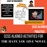 Discussion Based Prompts for The Hate You Give Novel (THUG)