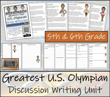 Discussion Based Writing Unit - Greatest U.S. Olympian of All Time?