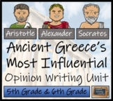 Discussion Based Writing Unit - Most Influential Figure from Ancient Greece?