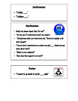 Discussion Cards