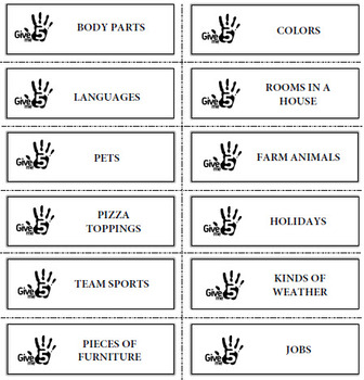Discussion Cards - Get Speaking