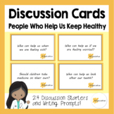 Discussion Cards | People Who Help Us Keep Healthy