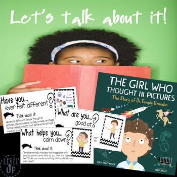 Discussion Cards and Paper for The Girl Who Thought in Pictures