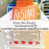 Chapter by Chapter Discussion Cards for Restart by Gordon Korman