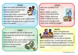 Discussion Cards for Social, Character, Ethical Development
