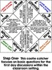 Discussion Starters Cootie Catchers with Question Posters for Back to School