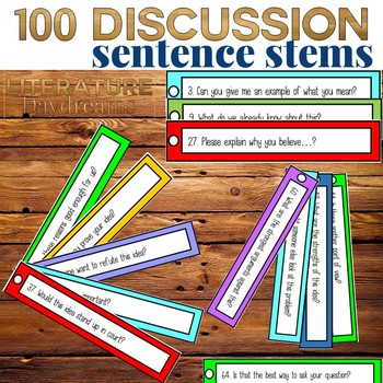 Discussion Debate Sentence Starters