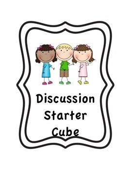 Discussion Dice - Ice Breakers for groups