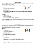 Discussion Expectations Sheet
