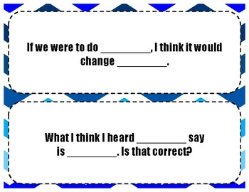 Discussion Frames