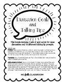 Discussion Goals and Talking Tips Cards