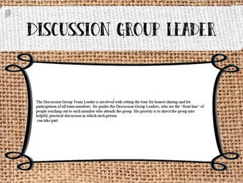 Discussion Group Leader How-To ***FAITH BASED***