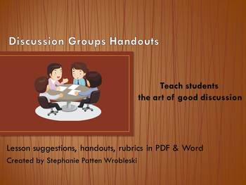 Discussion Groups Handouts