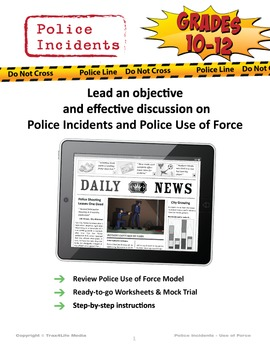 Discussion Guides on Police Incidents & Police Use of Force