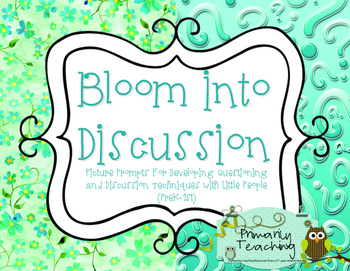 Discussion Picture Prompts: Bloom Into Discussion!