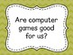 Discussion Prompt Cards {Thinking Skills}