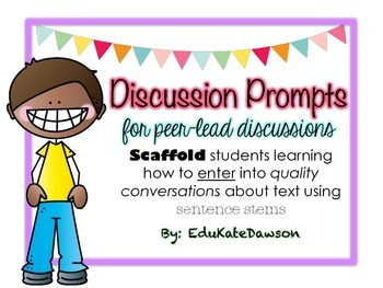 Discussion Prompts for Peer-Lead Discussions
