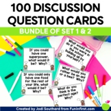 Discussion Question Cards (Deep Thinking for Little Minds) The Bundle