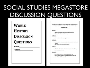 Discussion Questions Full Year World History