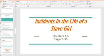Discussion Questions Slides- Incidents in the Life of a Slave Girl