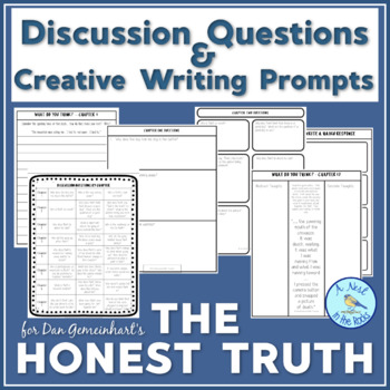 Discussion Questions & Writing Projects for Gemeinhart's The Honest Truth