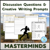 """Discussion Questions & Writing Prompts for """"Masterminds"""" b"""