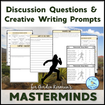 """Discussion Questions & Writing Prompts for """"Masterminds"""" by Gordon Korman"""