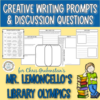 Discussion Questions & Writing Prompts for 'Mr. Lemoncello's Library Olympics'