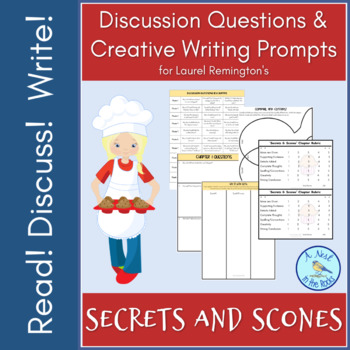 "Discussion Questions & Writing Prompts for ""Secrets and Scones"""