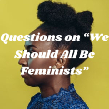"Discussion Questions and Prompts for ""We Should All Be Feminists"""